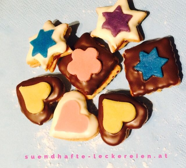 Marzipan Kekse